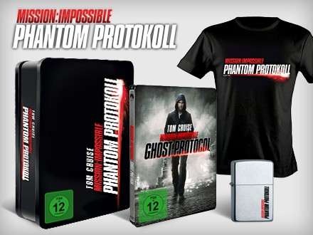 Mission Impossible: Ghost Protocol Special Produkt